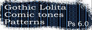Gothic Lolita Comic tones