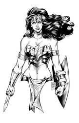 Wonder Woman (ink)