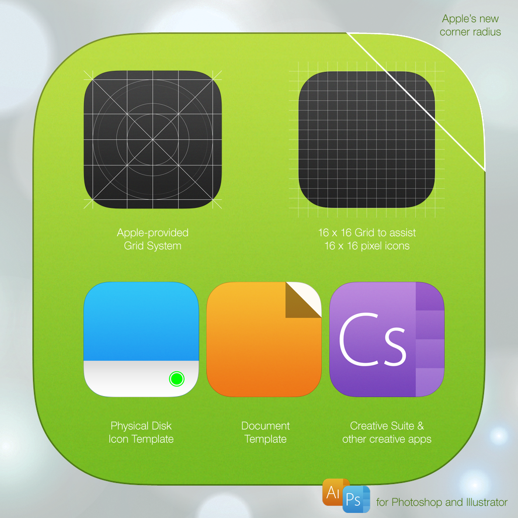 7 Icon Template PSD AI by iynque on DeviantArt