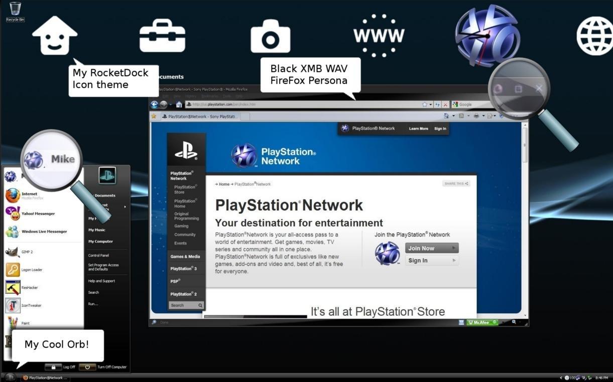 Playstation 3 by michaelgoldthriteart