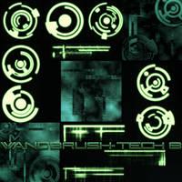 Wandbrush-Tech B by MonkWanderer