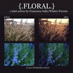 Floral Action Set