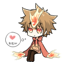 Tsuna: Hyper Dying Will Shimeji by IntoTheFrisson