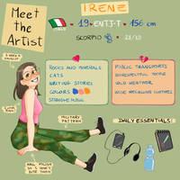 Meet the artist - 2020