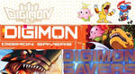 Digimon Savers (Data Squad)  - Banners