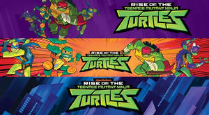 Rise of The Teenage Mutant Ninja Turtles - Banners by ultima-lord