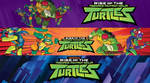 Rise of The Teenage Mutant Ninja Turtles - Banners
