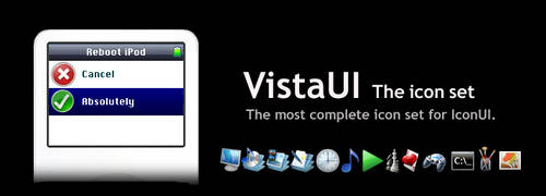 VistaUI Icon Set for IconUI by Walrick