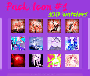 [Pack] Icons - 100 Watchers!!