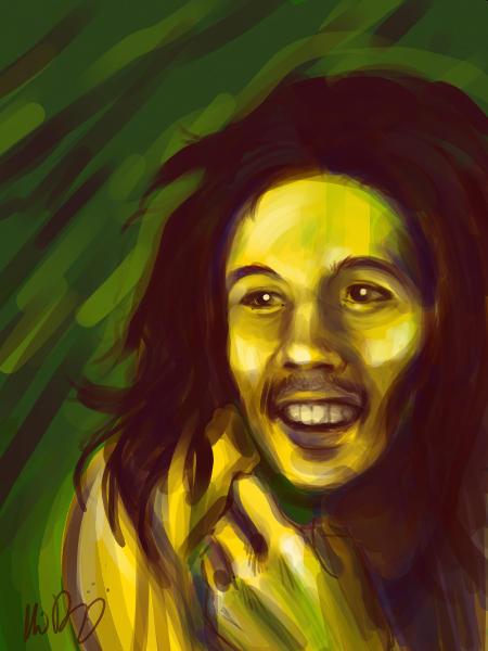Bob Marley by AlisaDidkovsky