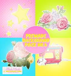 Premade Background Pack No.4