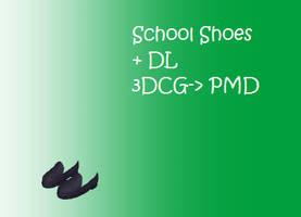 MMD: school shoes + DL by Chibi-Baka-San