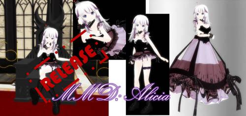 MMD: Alicia + download by Chibi-Baka-San