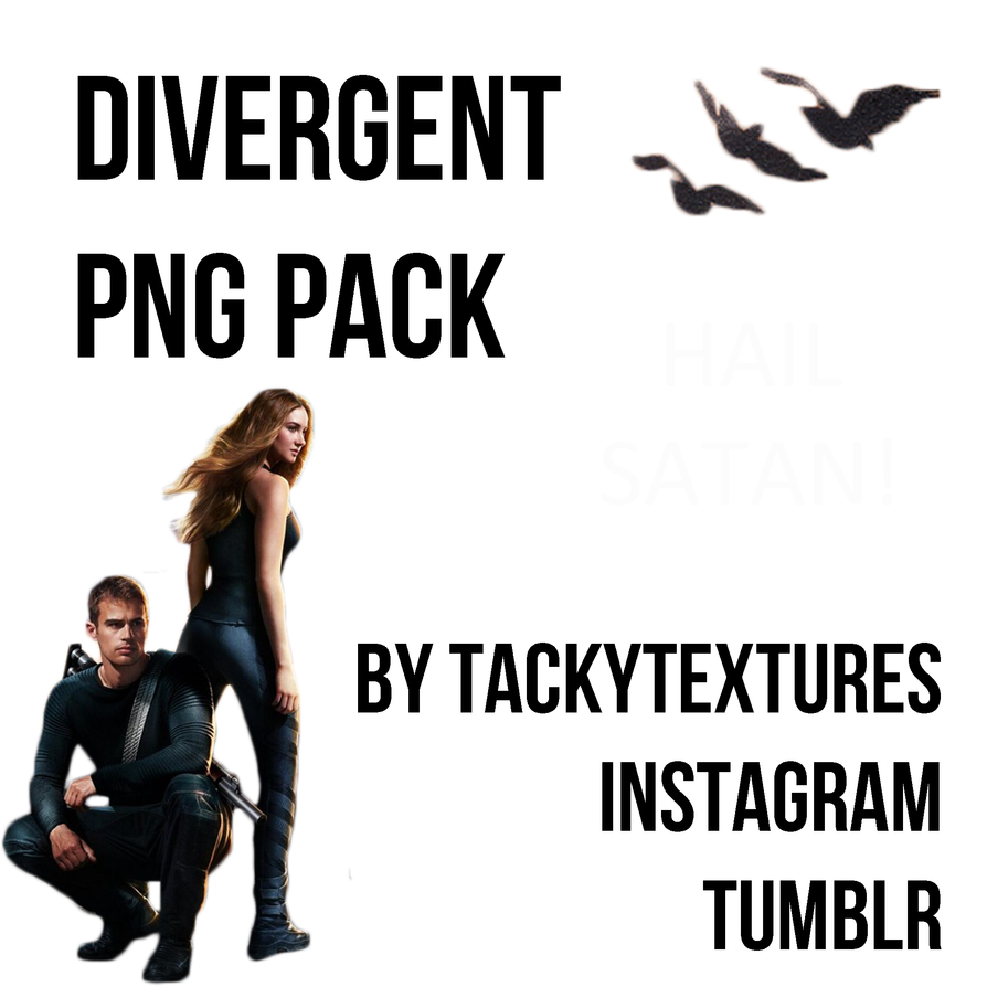 divergent png pack by tackytextures on deviantart