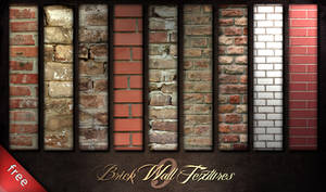 Brick Wall Textures by piximi