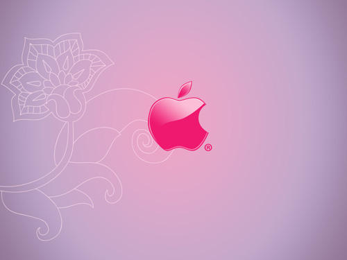 Pink Mac Apple Wallpaper by chikaex0tica