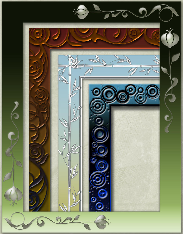 Contemporary Frames by jilbert