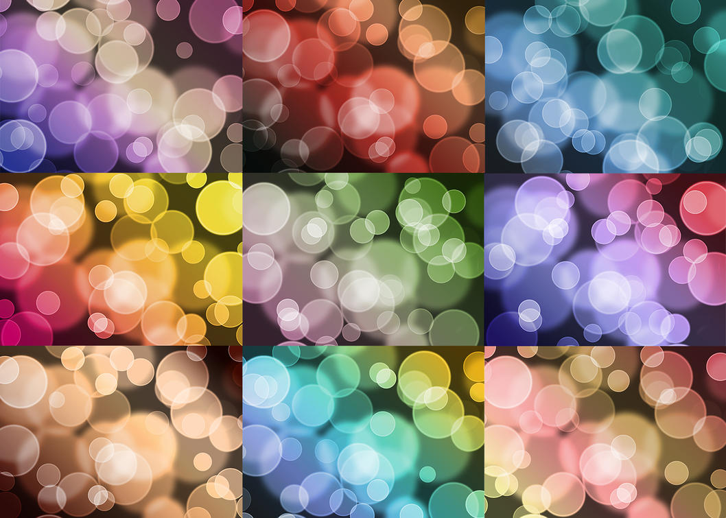 Digital Bokeh Textures by jilbert