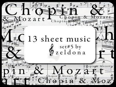 13 sheet music