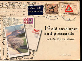 19 old envelopes and postcards by mellowmint
