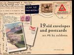 19 old envelopes and postcards