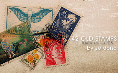 42 old stamps by mellowmint