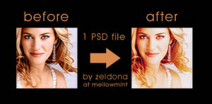 Kate Winslet PSD
