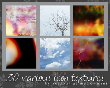 http://fc07.deviantart.net/fs45/i/2009/143/c/6/30_various_icon_textures_by_mellowmint.jpg