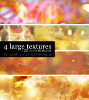 Liquid Luck - 4 large textures by mellowmint