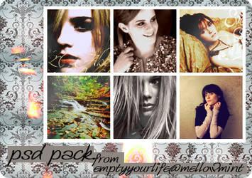 PSD Pack by mellowmint