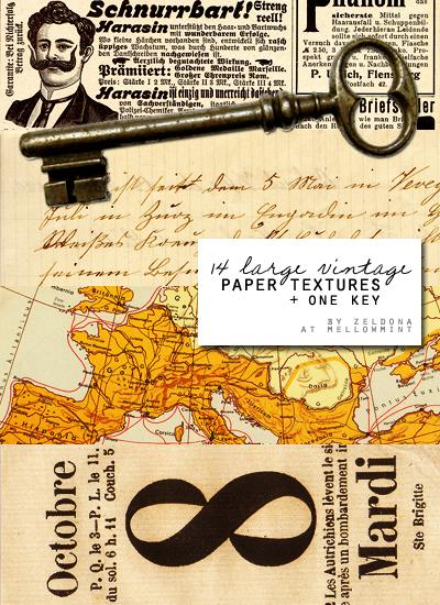 Vintage paper by mellowmint