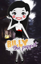 Billy the puppet doll by BornInThe90