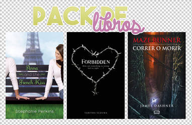 Pack de libros III by BornInThe90