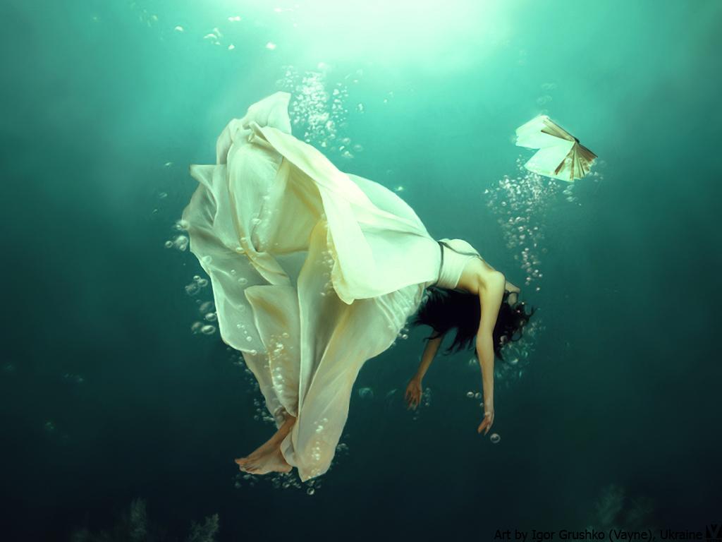 Falling (wallpaper) by Vayne17 on DeviantArt