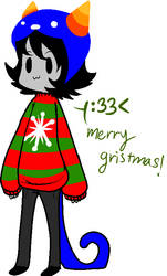 Gristmas :Gif and song: by AskAC