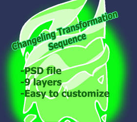 Animated Changeling Transformation ''Base''