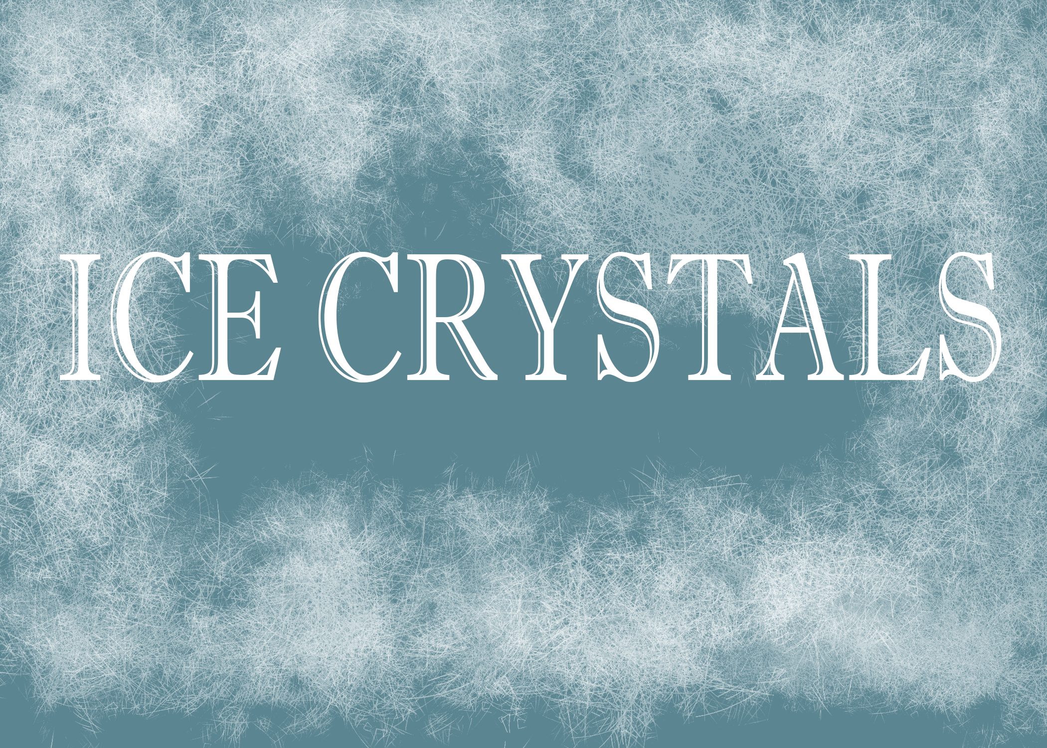 Ice-crystals by Drury-Lane