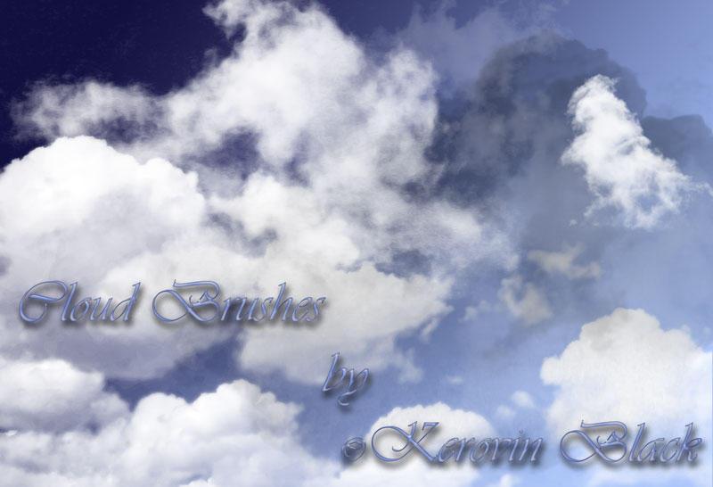 Cloud Brushes by KerovinBlack