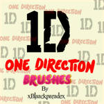 One Direction Brushes