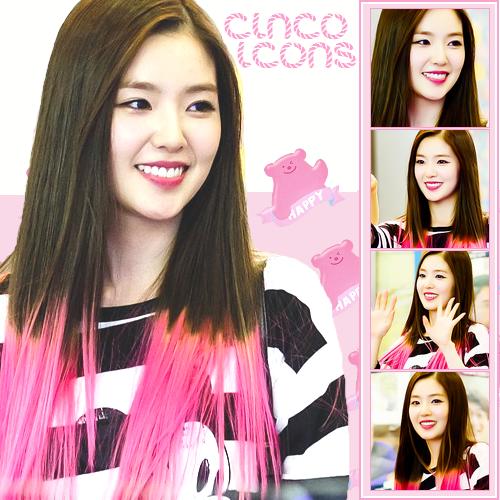 5 icons de Irene [Red Velvet] by LuannaMaria