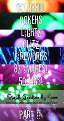 Bokeh Texture Pack - Part II by WanderingSoul-Stox