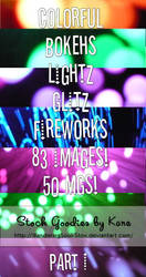 Bokeh Texture Pack - Part I by WanderingSoul-Stox