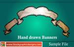Hand Drawn Banners-Brush