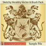 Sketchy Heraldry Brushes