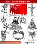 Christmas Vector Pack Free Sample