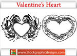 Valentines Heart Brushes