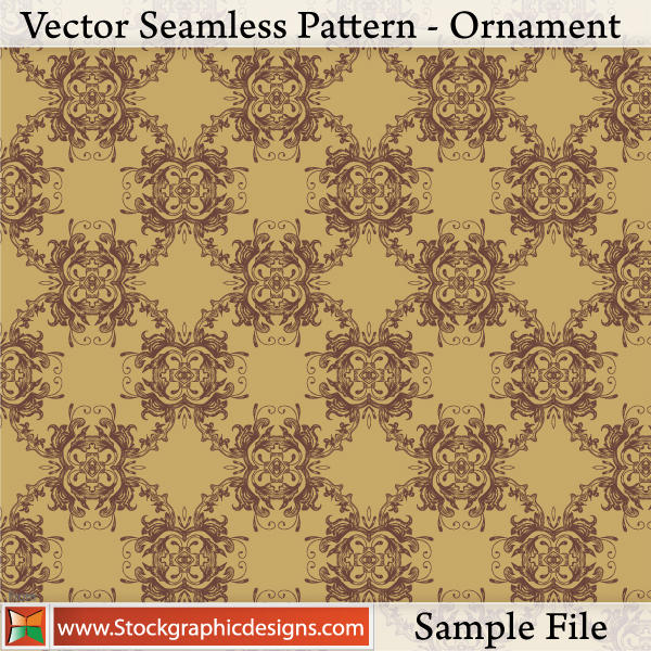 Seamless Pattern - Ornament by Stockgraphicdesigns
