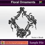 Floral Ornaments Brush