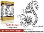 Paisley Designs Brush Pack