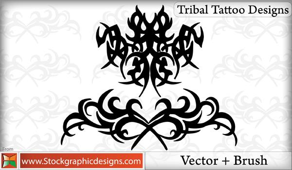 Tribal Tattoo Designs Brushes